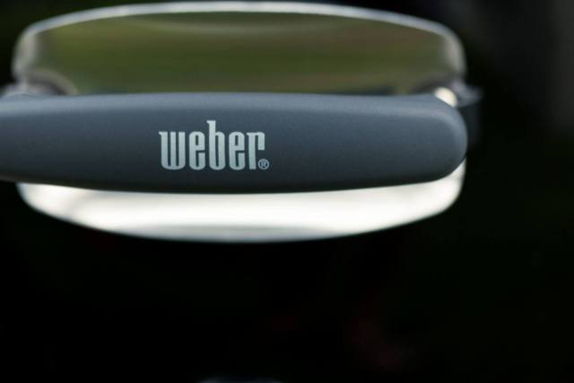 Weber Original Kettle Grill Review - Grill Handle