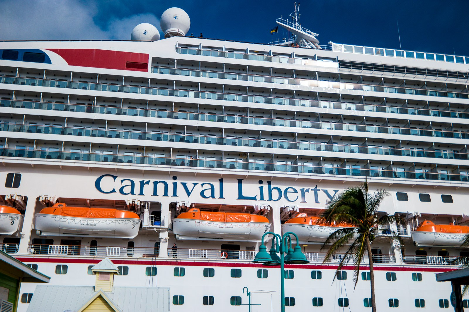 Carnival Liberty Review - In Freeport, Bahamas
