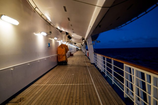 Carnival Liberty Review - Outside Walkway