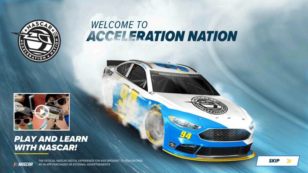 Geek Dad races into the season with the new NASCAR Acceleration Nation App #ad