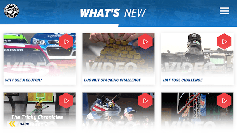 NASCAR Acceleration Nation - What's New Video Library