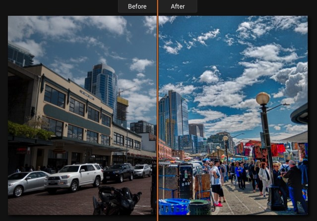 Aurora HDR 2018 Before and After - Example 02