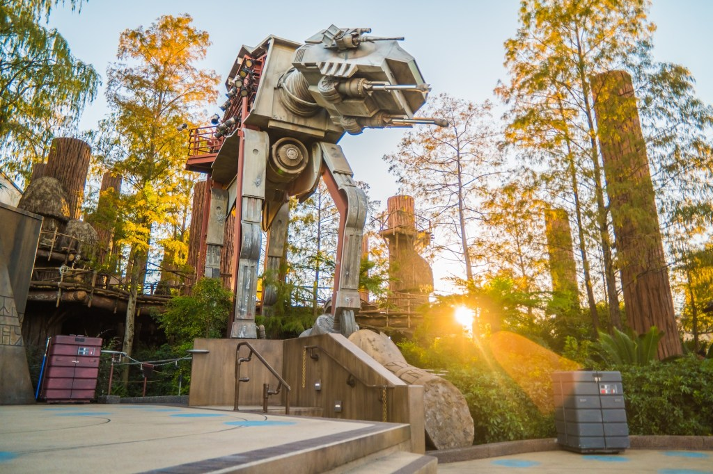 AT-AT Disney Hollywood Studios After Luminar Edit