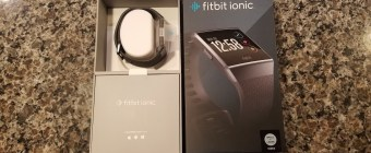 Fitbit Ionic Review - Open Still in the Box