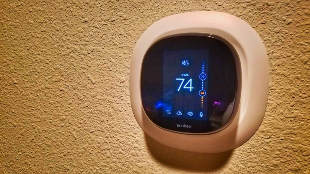 Ecobee4 Fully Installed - WiFi Alexa Thermostat - Ecobee4 Review
