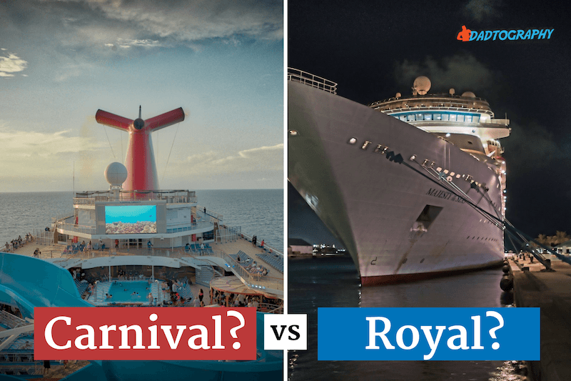 Carnival vs Royal Caribbean - Who is better?