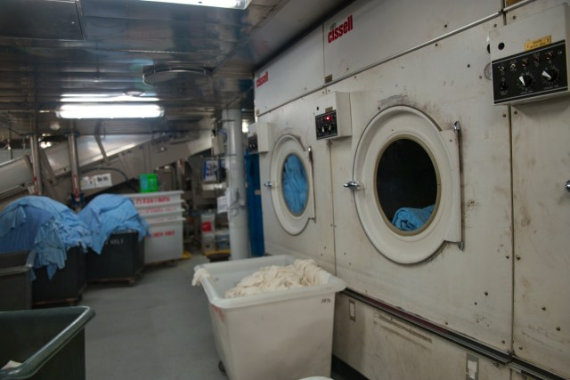 Behind the Scenes Ship Tour - I think those are dryers?