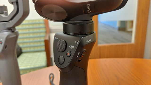 DJI Osmo Mobile controls and buttons