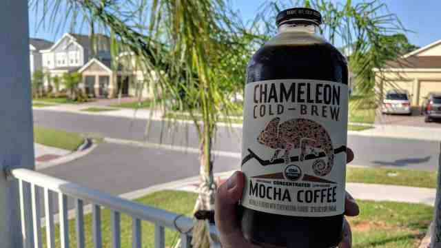 Chameleon Cold Brew Coffee Review - Product Photo
