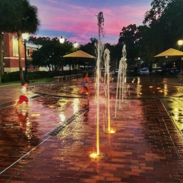 Downtown Winter Garden Splash Pad