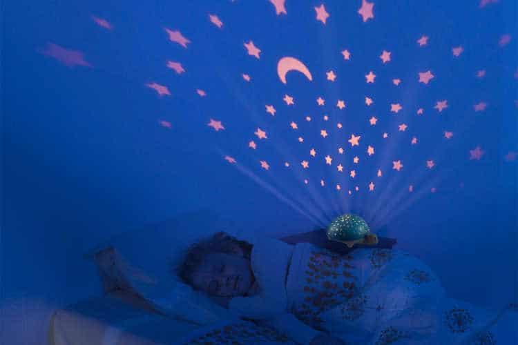 Lampki nocne z projektorem Pabobo