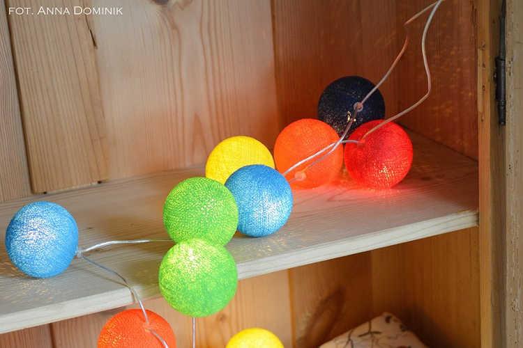 Lampki nocne Cotton Balls