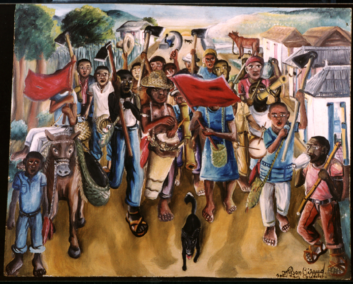 Wilson Bigaud Everyday Haitian Life Bathed In A Golden