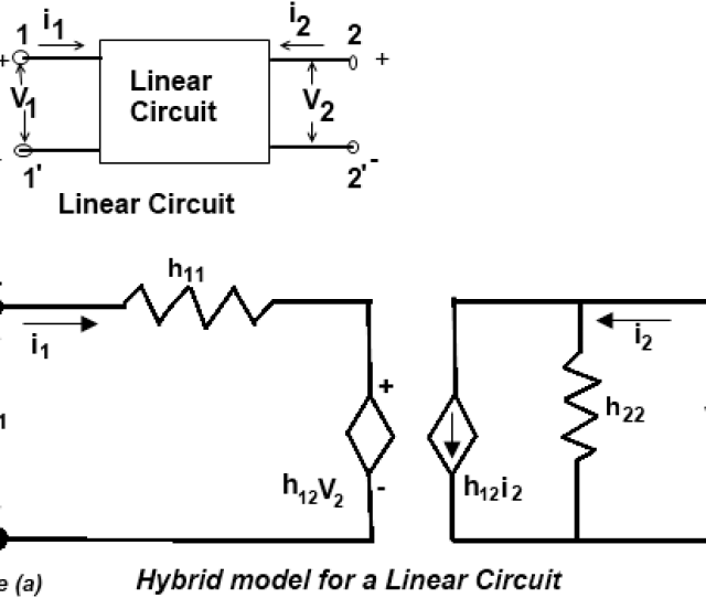 H Parameters Of Linear Circuit