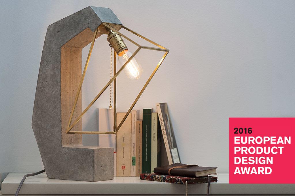 Inside Out Concrete Lamp Image ...