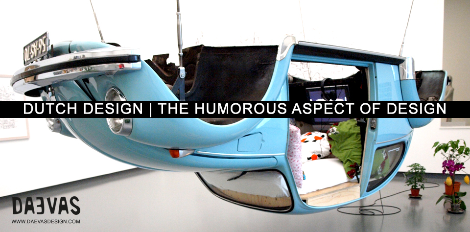 Dutch Design | The Humorous Aspect Of Design image
