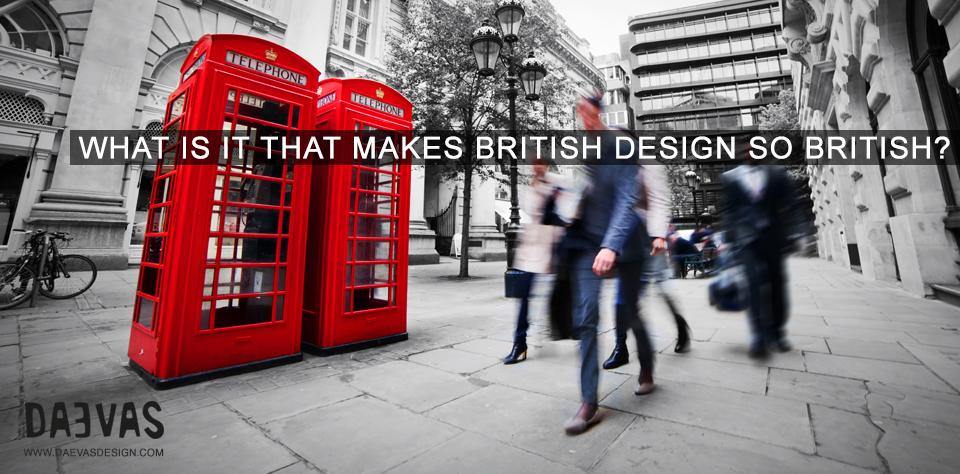 What is it that makes british design so british image