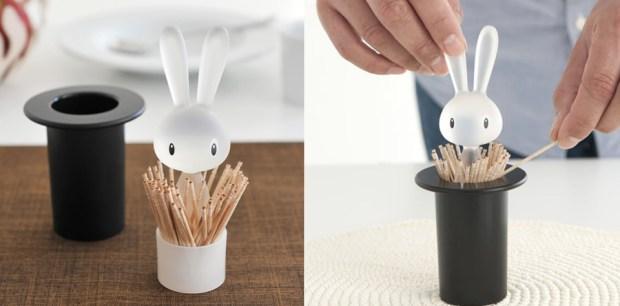 Alessi – Playful And Joyful Design_Magic Bunny Toothpick Holder Image