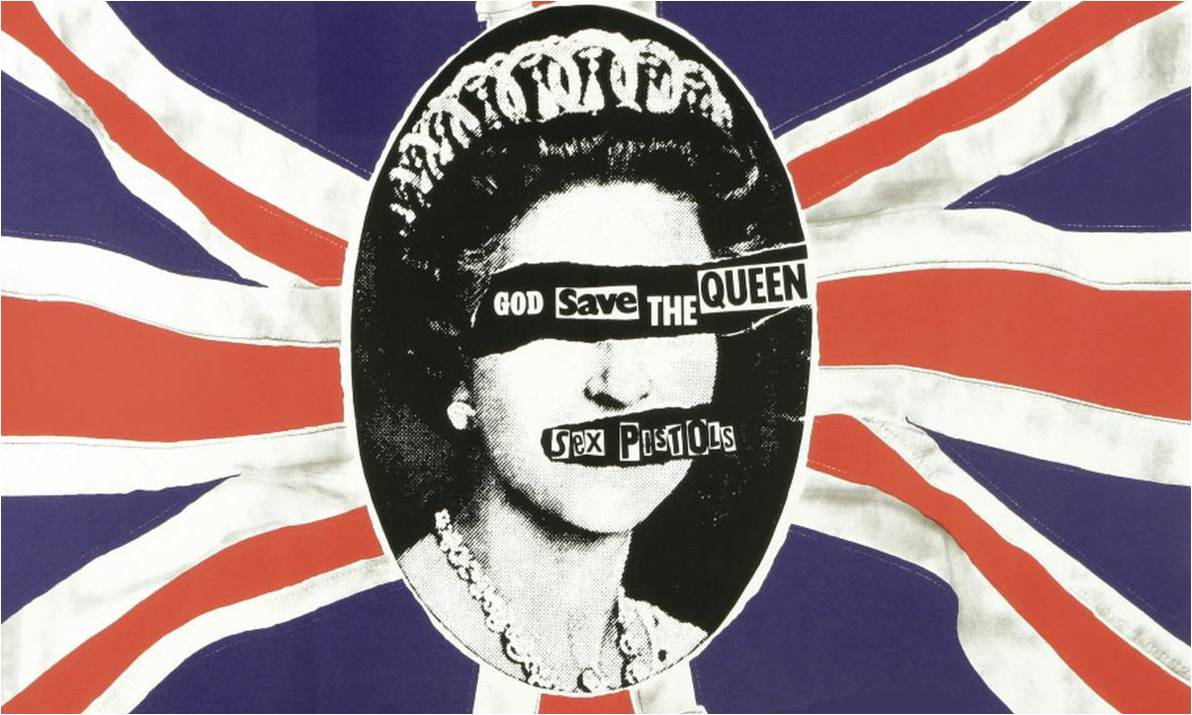 Sex pistol God save the queen font?