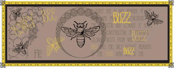 Honey Bee Font dafontcom