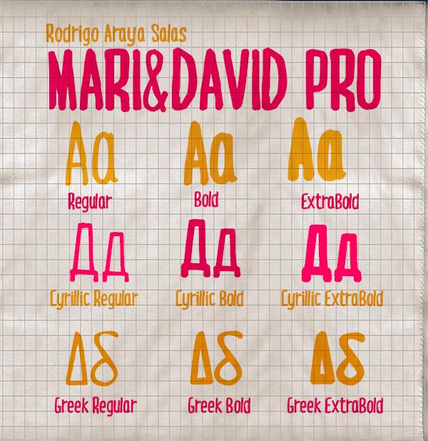 Mari & David typos