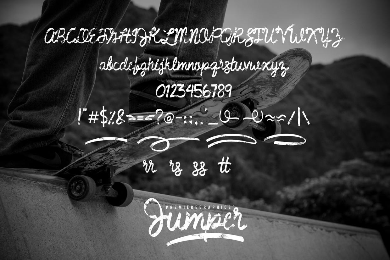 Jumper_Font_Complete_Set