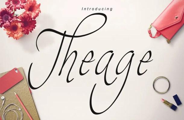Theage Font