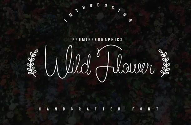 Wild Flower Font