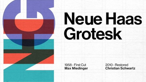 Neue Haas Grotesk Font Free Download