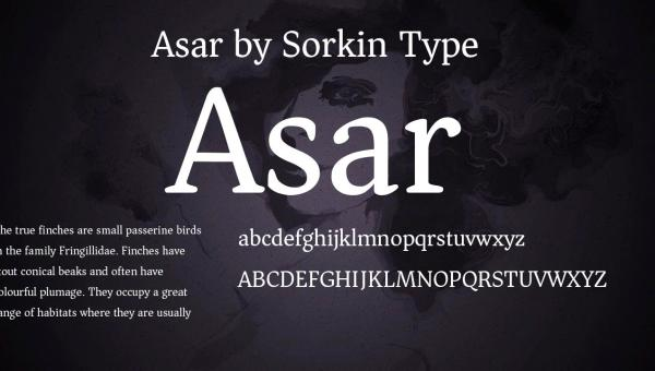 Asar Font Free