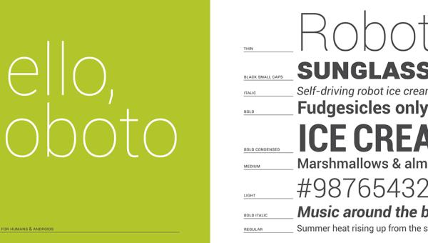 Roboto Font Family Free Download