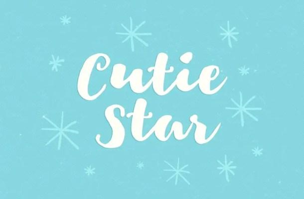 Cutie Star Free Font
