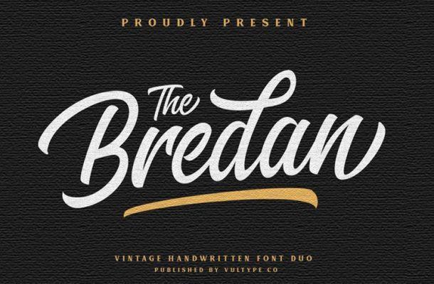 The Brendan Script Font