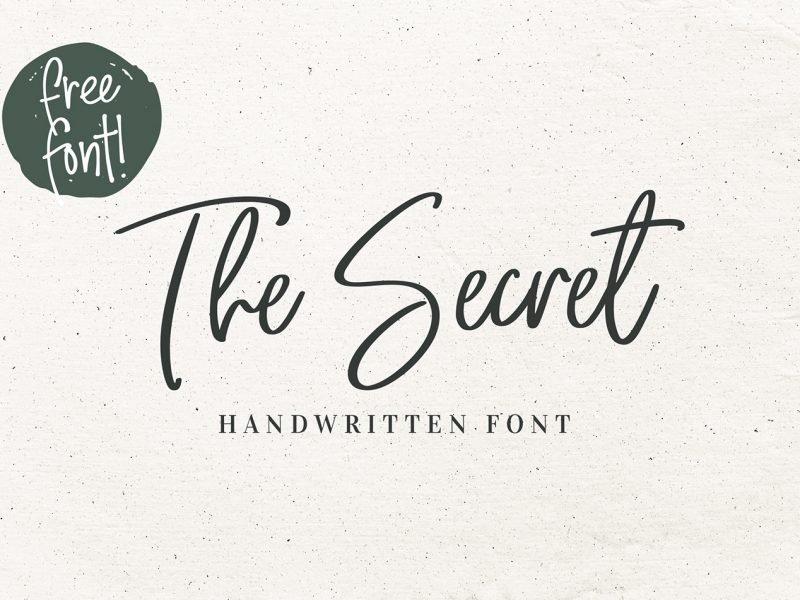 The-Secret-Script-Font-1