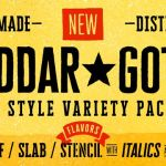 Char Gothic Font Family