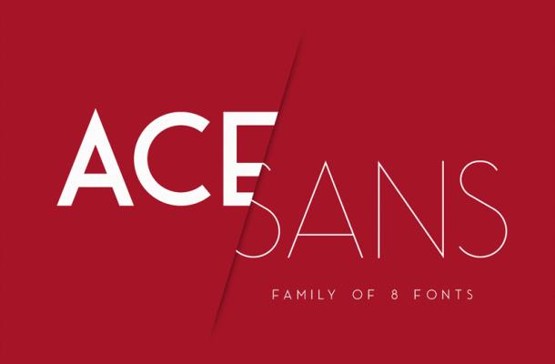 Ace Sans Font Family Free