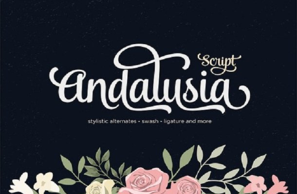 Andalusia Script Font Free