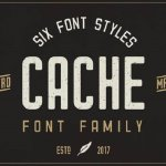 Cache Font Family Free