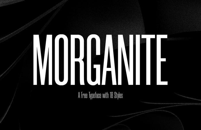 Morganite Sans Serif Typeface -1