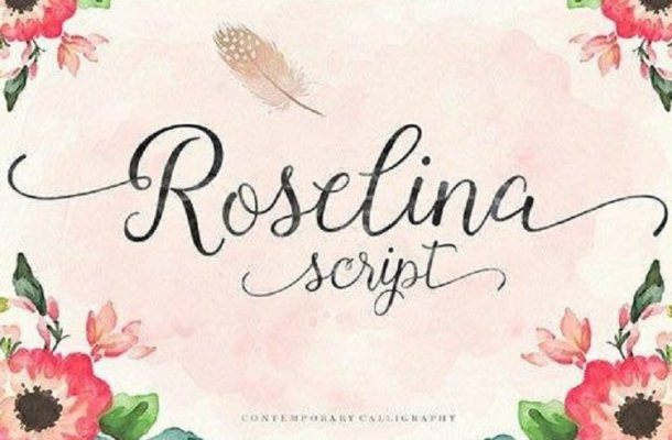 Roselina Script Font Free