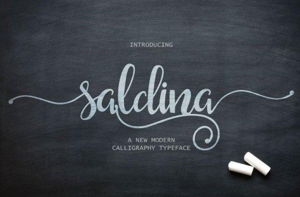 Saldina Font Free