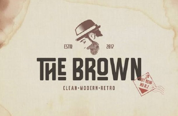 The Brown Typeface Free