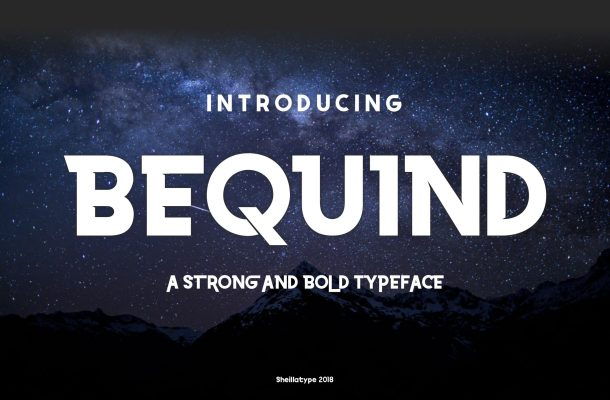 Bequind Dysplay Font Free