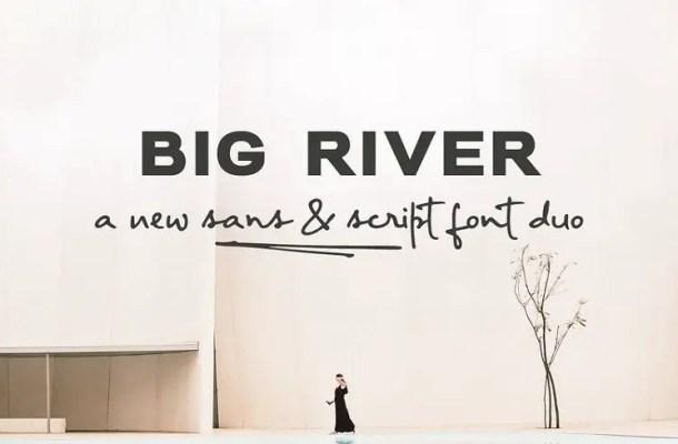 Big River Font Family Free