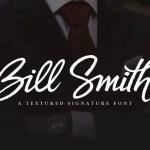 Bill Smith Script Font Free