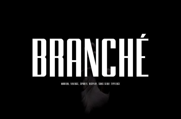 BRANCHE Typeface Free