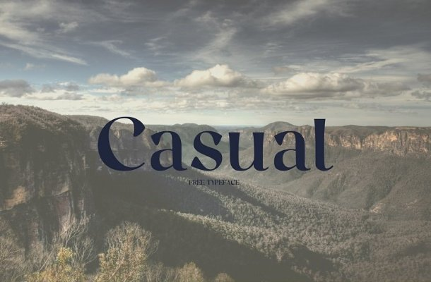 Casual Font Free