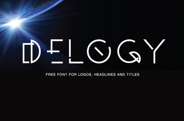Delogy Typeface Free