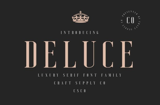 Deluce Serif Font Free