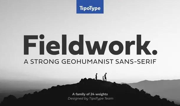 Fieldwork Font Family Free